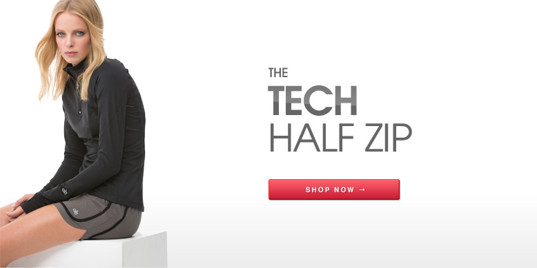 The Tech Half Zip